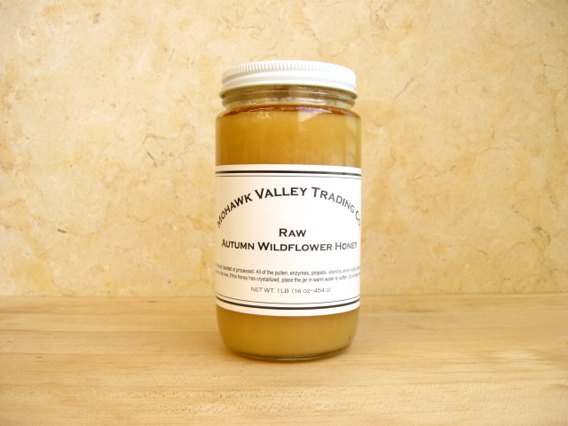 Raw Honey - Wildflower, Autumn - Mohawk Valley Trading Company