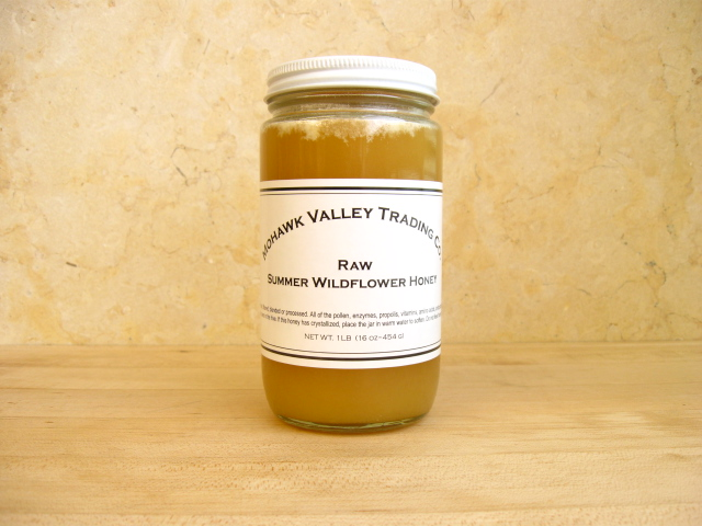 Raw Honey - Wildflower, Summer - Mohawk Valley Trading Company